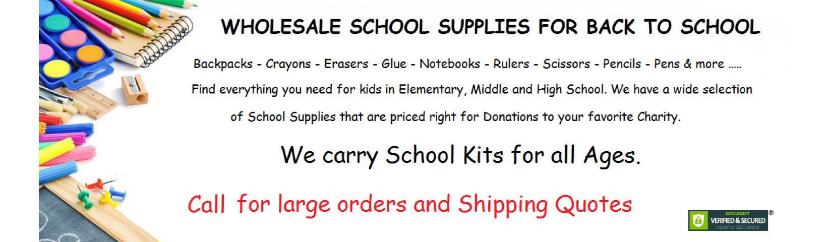 wholesale school supplies 2018