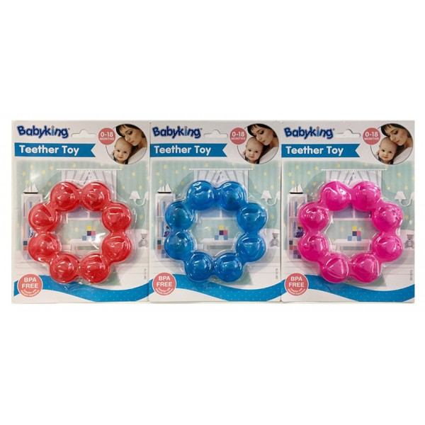 Water-Filled Round Baby Teether