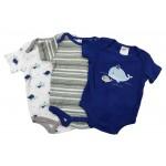 Baby Boys' 3-Pack Bodysuits