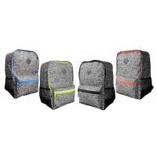 "17"" Eaglesport Wholesale Backpacks In 4 Trim Colors - Bulk Case of 24 Bookbags"