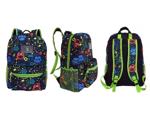"16"" Owl Wholesale Backpacks $4.25 Each."