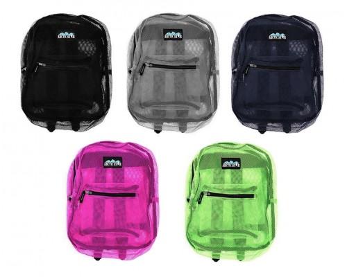 "17"" Mesh Backpack $4.75 Each"
