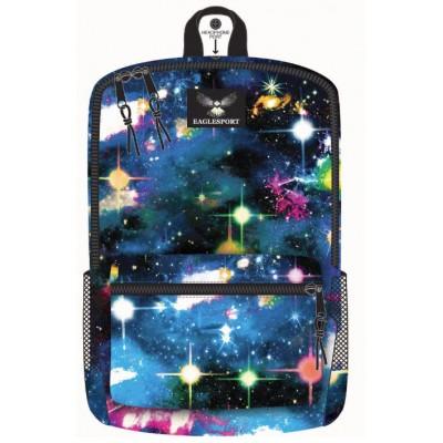 18 Inch Wholesale Printed Backpacks - Galaxy