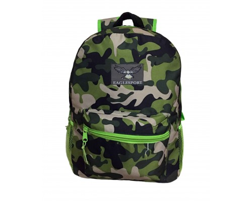 "15"" Wholesale backpacks Camo $4.25 Each"