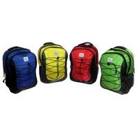 "17"" Sherpa Premium Padded Wholesale Backpacks In 4 Colors - Bulk Case of 18"