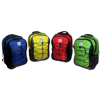 "17"" Sherpa Premium Padded Wholesale Backpacks In 4 Colors - Bulk Case of 18"
