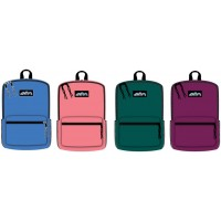 "17 "" Wholesale School Backpacks In 4 Colors - Bulk Case Of 24 Bookbags"