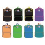 """18"""" NFLA 2-Tone Backpacks in 8 Assorted Color Combinations"""