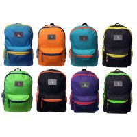 "18"" 2-Tone Wholesale Backpacks $5.00 Each."