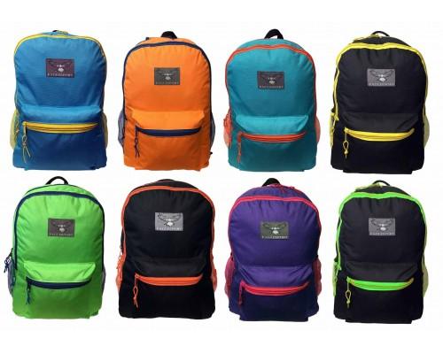 """16"""" 2-Tone Wholesale Backpacks $4.00 Each."""