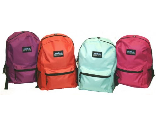 "17"" Solid Backpacks"