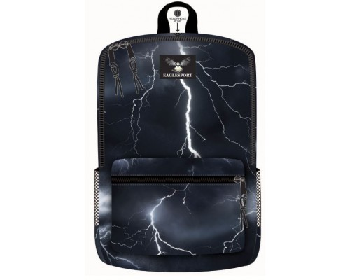 "18"" Eaglesport School Backpacks Lightning Print"