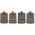 "17"" Eaglesport Wholesale Backpack In 4 Assorted Trim Colors - Bulk Case of 24 Bookbags"