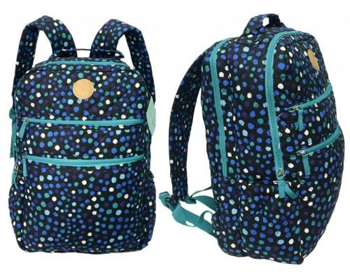 "17"" Polka Dots Backpack"