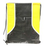 Yellow/Black Drawstring Backpack