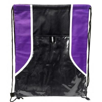 Two Tone Drawstring Bags