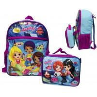 "16"" Splashings Backpack W/ Lunch Box"