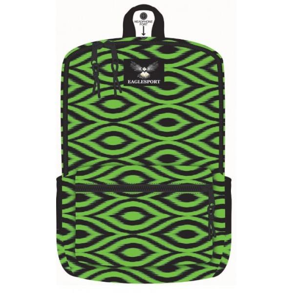 "16"" IKAT Printed Wholesale Backpacks"