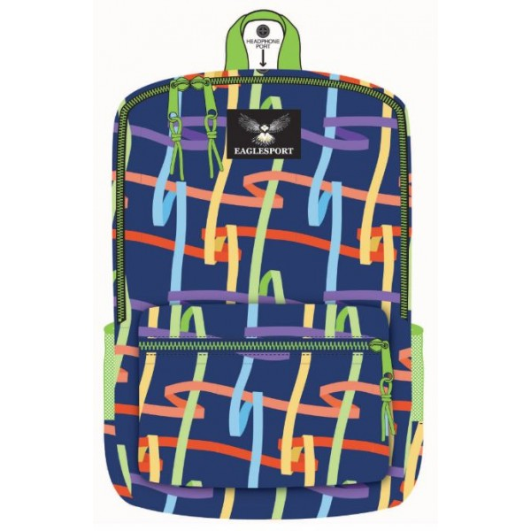 "16"" Ribbons Printed Wholesale Backpacks"
