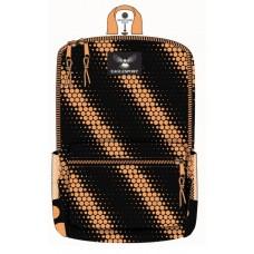 """16"""" Orange Printed Wholesale Backpacks"""