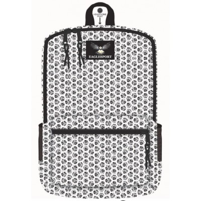"16"" Honeycomb Printed Wholesale Backpacks"