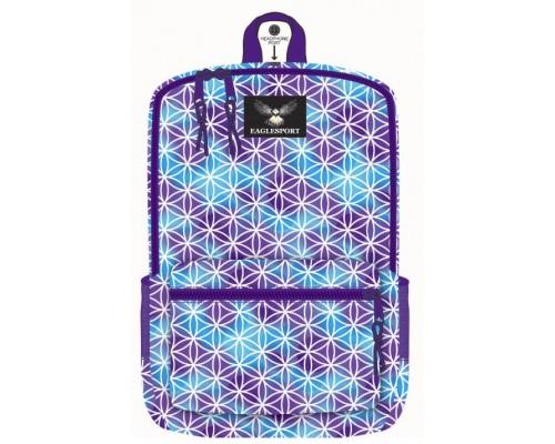 """16"""" Cloud Printed Wholesale Backpacks"""