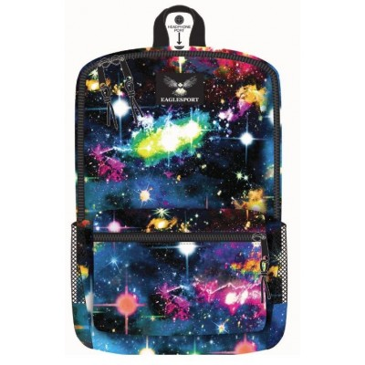 "16"" Galaxy Printed Wholesale Backpacks"
