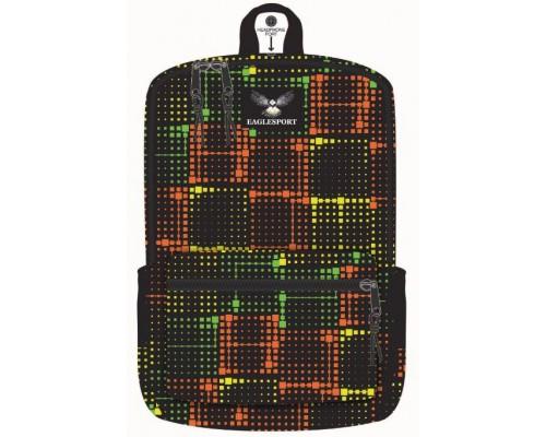 "18"" Eaglesport School Backpacks Multi Laser Print"