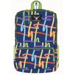 "18"" Eaglesport School Backpacks Ribbons Print"