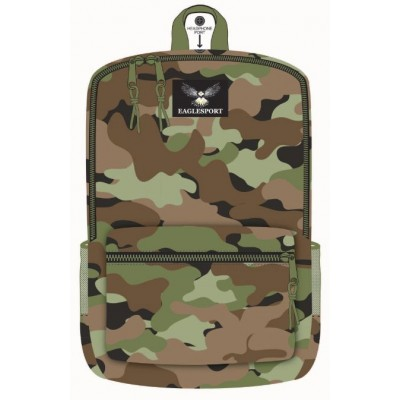18 Inch Wholesale Printed Backpacks - Camouflage