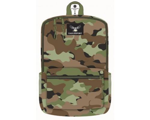 "18"" Eaglesport School Backpacks Camouflage Print"