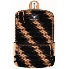 18 Inch Wholesale Printed Backpacks - Orange Circles