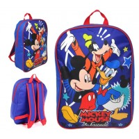 """15"""" Mickey Mouse & Friends Backpack"""