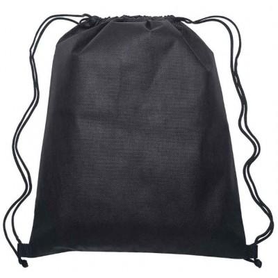 Black Drawstring Bags
