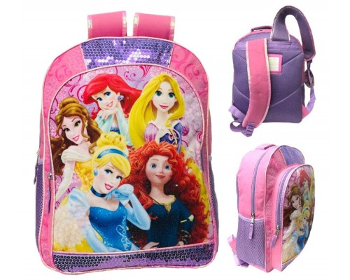 "16"" Disney Princesses Wholesale Backpacks"