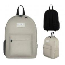 """17"""" East West Backpacks Beige"""