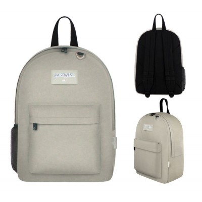 "17"" East West Backpacks Beige"