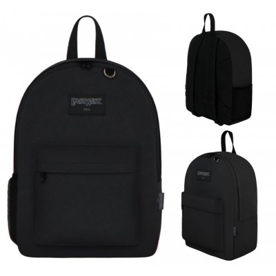 "17"" East West Backpacks Black"