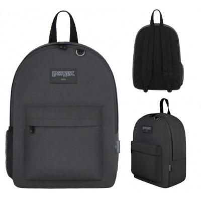 "17"" East West Backpacks Charcoal"