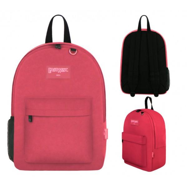 "17"" East West Backpacks Pink"