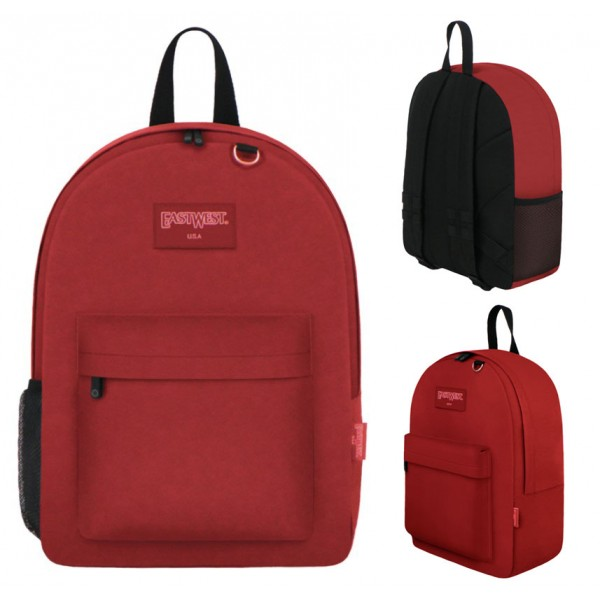 "17"" East West Backpacks Red"