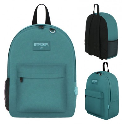 "17"" East West Backpacks Turquoise"