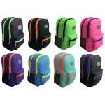 """19"""" Wholesale backpacks 2-tone $7.25 Each"""