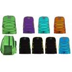 """19"""" Wholesale backpacks 2-tone $6.75 Each"""
