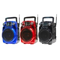 Portable Speaker 4 Band Radio