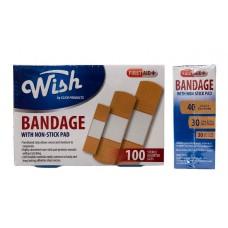 Wish Assorted Bandages 100 ct.