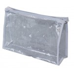 "8"" Clear Cosmetic Bag"