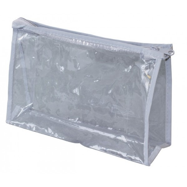 "8"" Clear Vinyl Pouch"