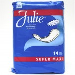 Julie 14 ct. Super Maxi Pads