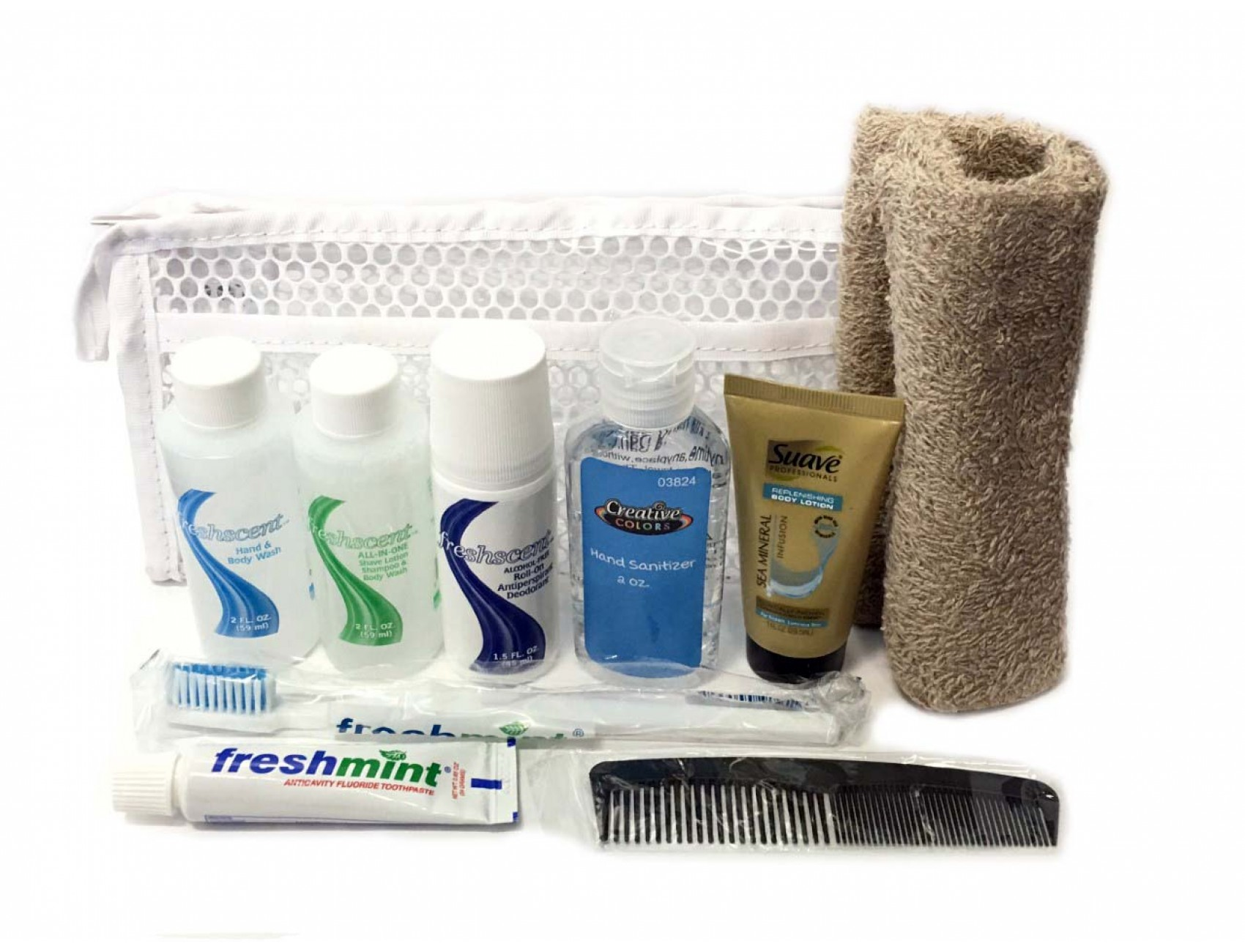 Wholesale hygiene Kit for traveling or hospital needs